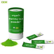 OEM Matcha To Go Small Sachet , Organic Matcha Tea