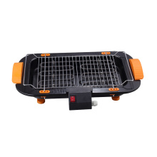 2000W Household Portable and Smoke-free Electric BBQ Grill