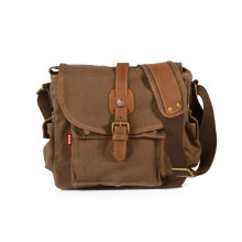Mannen Messenger Bag Kleine Canvas schoudertas