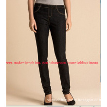 Lady's Skinny Denim Jeans Pants (JL04103)