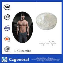 A melhor nutrição dos esportes do preço suplementa o L-Glutamina CAS # 56-85-9 do produto comestível