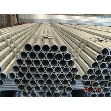 Tubos de aço galvanizado ou chapeado da alta qualidade perfurada