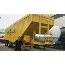 Semi-reboque de grão de transporte de despejo hidráulico