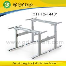 Empfangstheke Büromöbel Teakholz Schreibtisch höhenverstellbarer Chefschreibtisch für Entspannung oder Arbeit