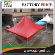 Cadre en aluminium rouge Tente de tension 5mx5m pour événement extérieur