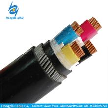 fil d'acier de conducteur en cuivre armé xlpe isolé câble d'alimentation électrique