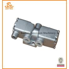 2 Position 3 Way Gas Control Slide Valve For Drilling Rig