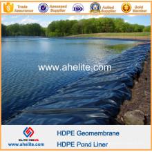 Géomembrane PEHD pour étang de pisciculture
