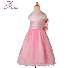 Grace Karin Niza Cute Diseño Rosa Flor Niñas Vestidos Con Big Bowknot CL4836