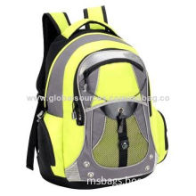 Outdoor laptop backpack made of polyester with fashionable design, large capacity and high quality