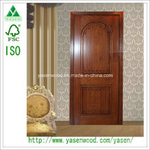 Intérieur de luxe Porte en bois massif Porte de la maison