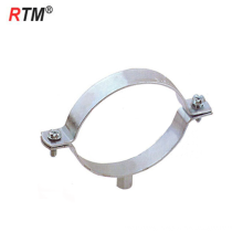 B17 M8+10 pipe clamp stainless steel Welding type wall mount pipe clamp
