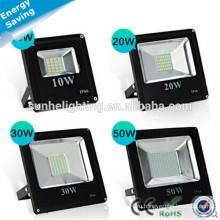 Дунгуань Открытый IP66 AC 85-265V 20w30w50w70w100w Алюминиевый свет потока для проекта