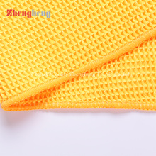 China for Ordinary Warp Knitting Towel Pineapple Towel Edgeless Microfiber Glass Cleaning Cloth export to Palau Supplier