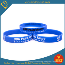 China Professional Custom Günstige Silikon-Armband (KD1831)