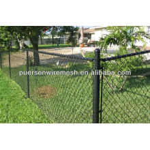 high quality low carbon steel chain link fence