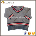 New design 100% cashmere knitting patterns for kids sweaters fashion