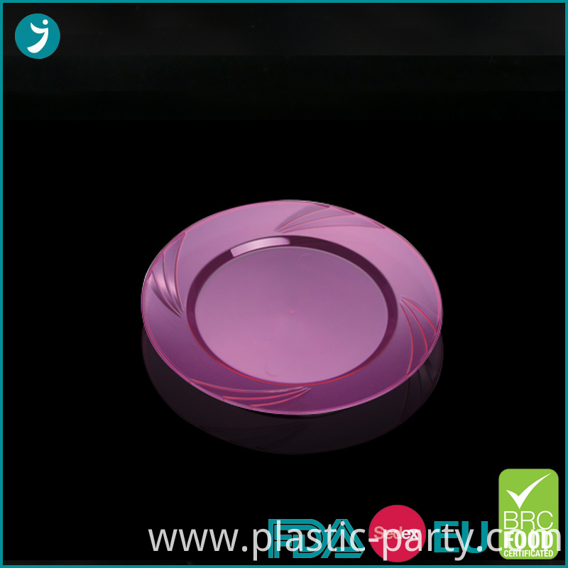 Plastic Party Plate 7 Inch