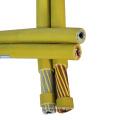 Cor preta amarela ou como exigido super flexível 70mm Co2 cabo de solda