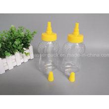 500g pet garrafa de plástico de mel com tampa de plástico nozzel