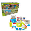 Boutique Playhouse Plastic Toy-Camping Set with Snack