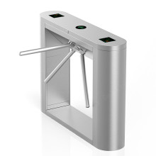 Fingerprint Vertical Dual Mechanism Tripod Turnstile System