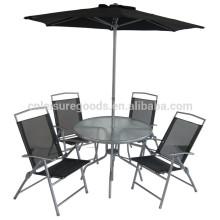 Bonne qualité meubles de patio en métal pas cher