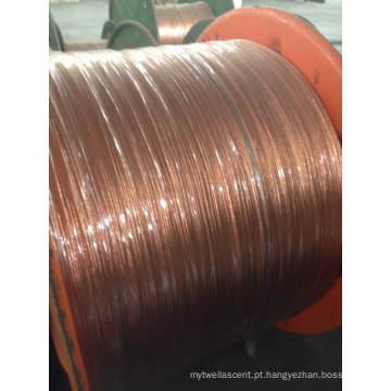 Fio de alumínio folheado Copper Clad / Bunched CCA Wire