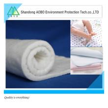 Matériel de remplissage thermique de fibre de bambou de fibre de bambou de compression / bambou