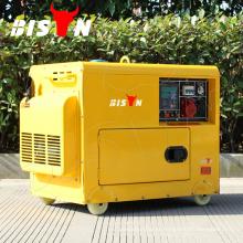 BISON China Zhejiang 5KW AC DC Trifásico Generador Diesel, 5W Generador de Potencia, king max generadores diesel