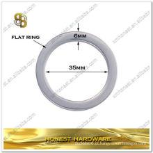 """1 3/8 """"anel de metal saco plano para bolsas de couro"""