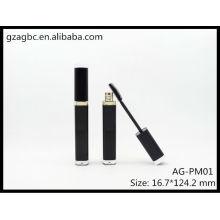 Elegante & vazio rímel quadratum acrílico tubo AG-PM01, embalagens de cosméticos do AGPM, cores/logotipo personalizado