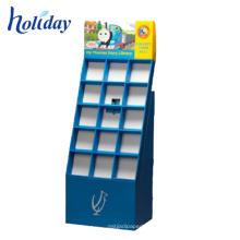 Well-sell-Boden-Taschen-zusammenklappbares Anzeigen-Regal für Förderung, kundenspezifische zusammenklappbare Regale Karton-Einzelhandel