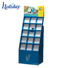 Well-sell Floor Pocket Collapsible Display Shelf For Promotion,Custom Cardboard Retail Collapsible Shelves