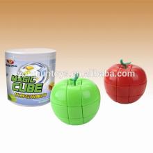 Yongun manzana rompecabezas cuadrado mágico 3 capas cubo
