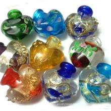 Murano Lots Of Lampwork Glass Perfume Bottle Pendants