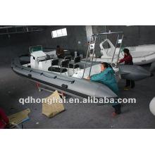 Топ rib680 hypalon или ПВХ надувная лодка