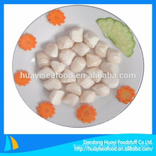 top sale high quality frozen various sizes bay scallop