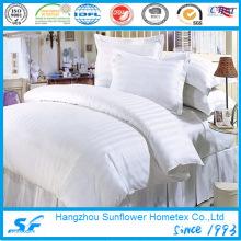 Linge de lit en coton rayé de 3cm ou 1cm