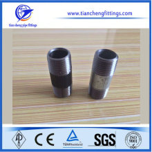 "1-1/4"" ANSI threading carbon steel pipe nipple​"