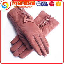 Kundenspezifische Thinsulate Thermal Lined Stretch Winter Acryl Strickhandschuh für Handy
