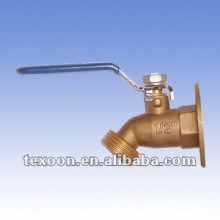 National Hardware Show Booth#2538 Big flange ball valve water taps chromium plated copper