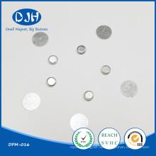 Runder gesinterter NdFeB Flexibler Magnet für die Verpackung (DPM-016)