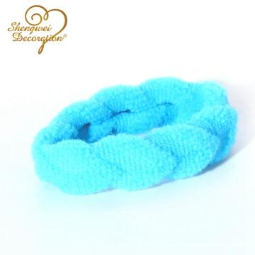 Vendas de nylon elásticos de alta calidad al por mayor de la toalla de los deportes de la alta calidad para el tenedor del Ponytail de las mujeres y de las muchachas