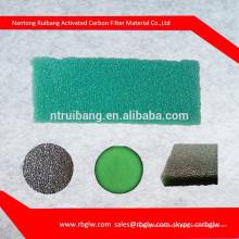 filtre de qualité filtre éponge nette forme hepa filtre à air mousse avec charbon actif