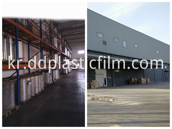 PET AB film our factory