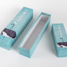 Paperboard Packaging Wholesale Rectangular Umbrella Gift Box