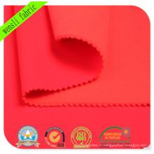 Le tissu composé fonctionnel teint par 280GSM avec GV approuvé