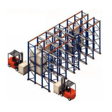 Drive Through Rack CE Certificated High Load Shelving Warehouse Storage Rack Price