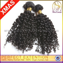 Produto quente vender Bund de cabelo Onlin Afro com cabelo Natural